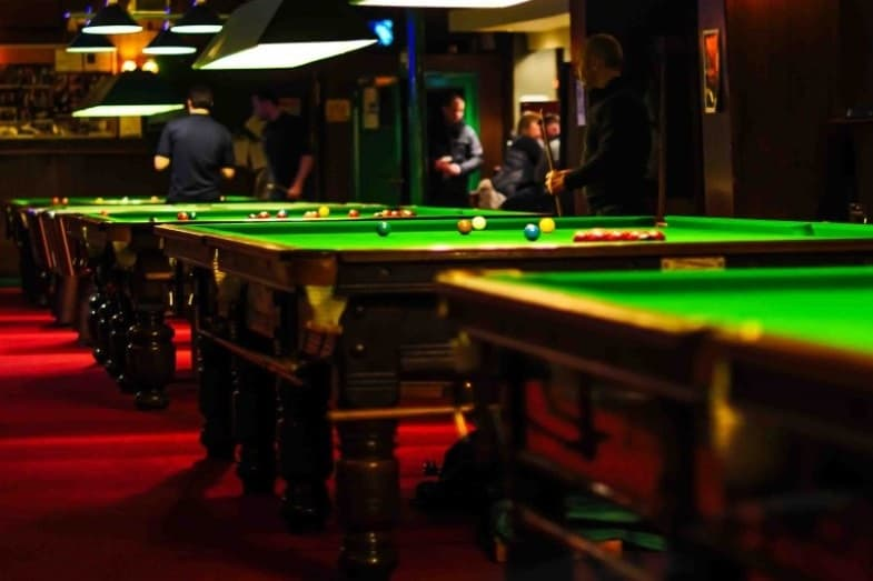 dimensions of pool tables