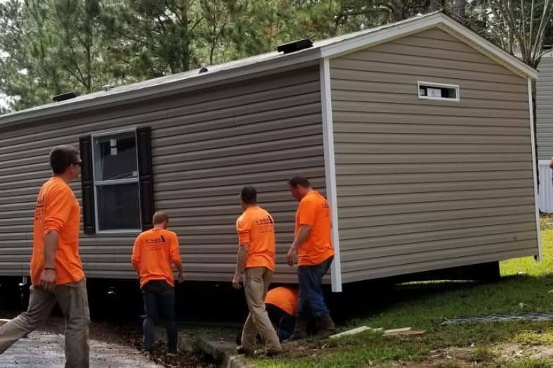 mobile home moving cost