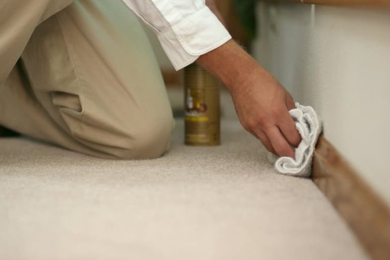 best method to clean painted baseboards