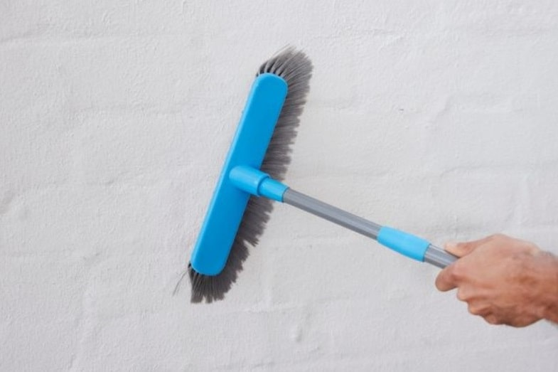 best way to clean painted walls
