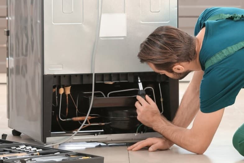 how to fix leaking refrigerator