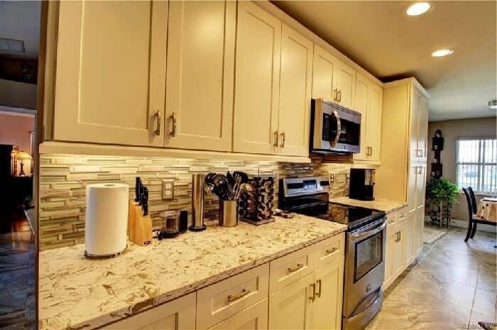 kitchen counter depth dimensions
