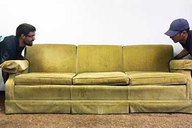 How to Get Rid of a Couch – 3 Options