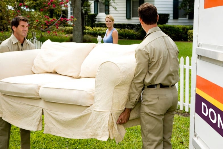 ways to dispose a couch