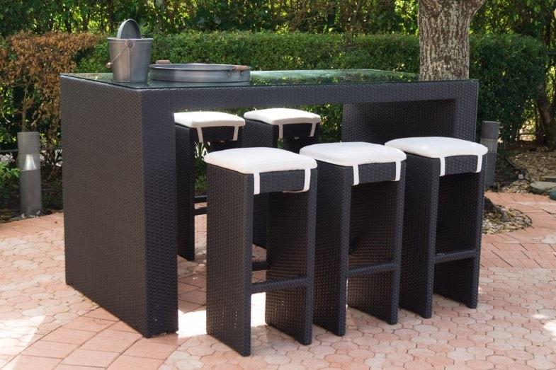 what is the right height of bar tables