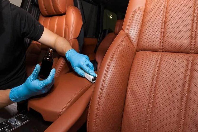 blended leather