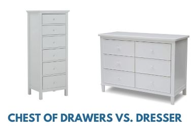 Read more about the article Chest of Drawers Vs Dresser: What Are the Differences?