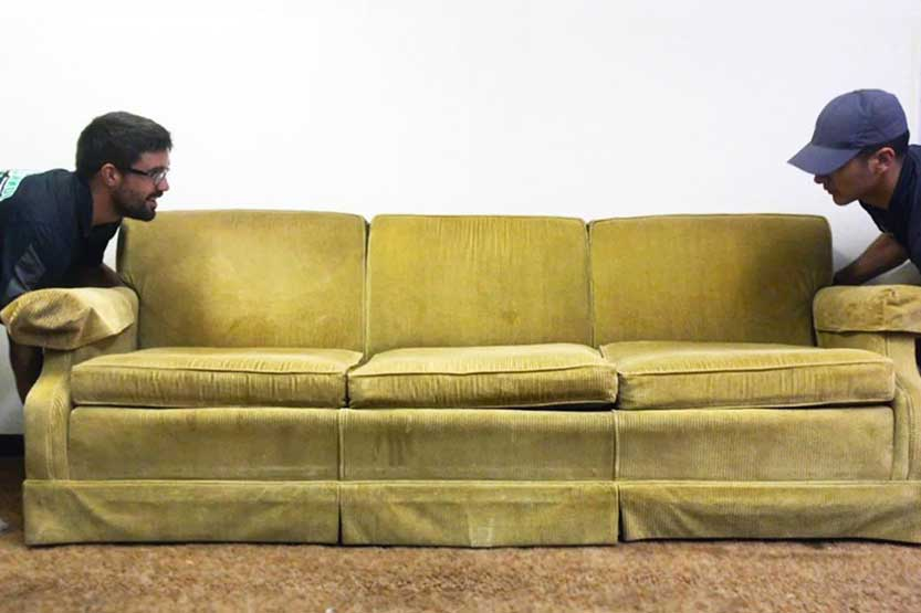 get rid of couch