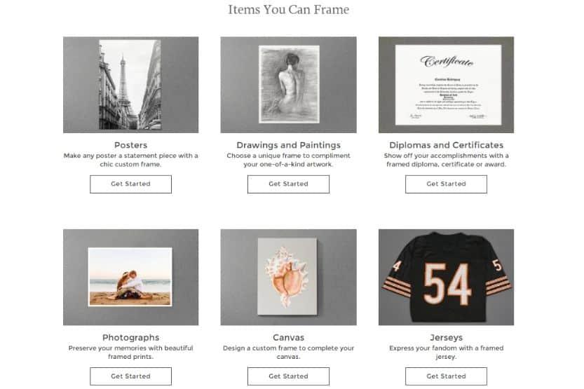 Michaels custom framing cost