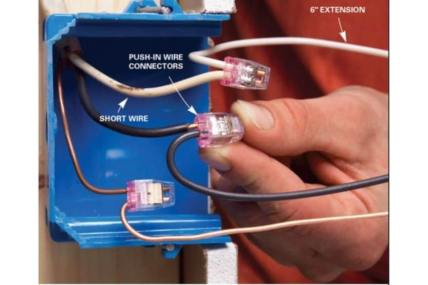 how to wire a light switch and outlet in same box