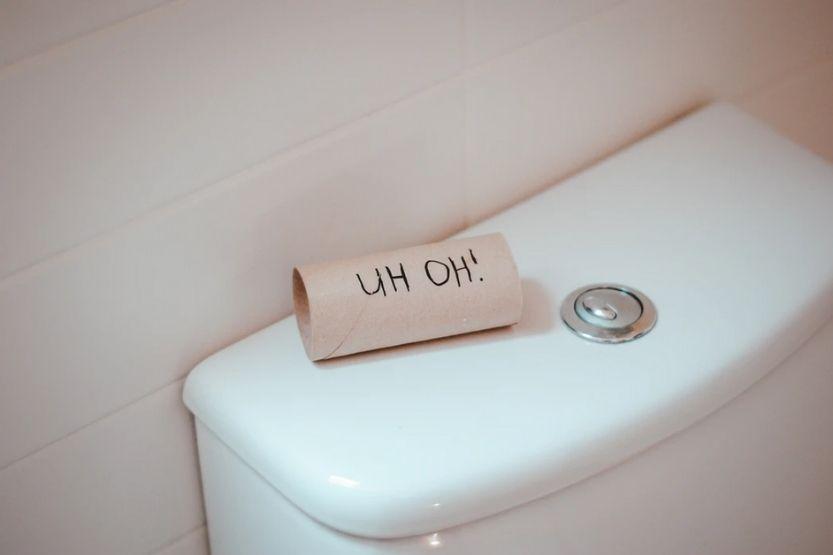 toilet randomly runs
