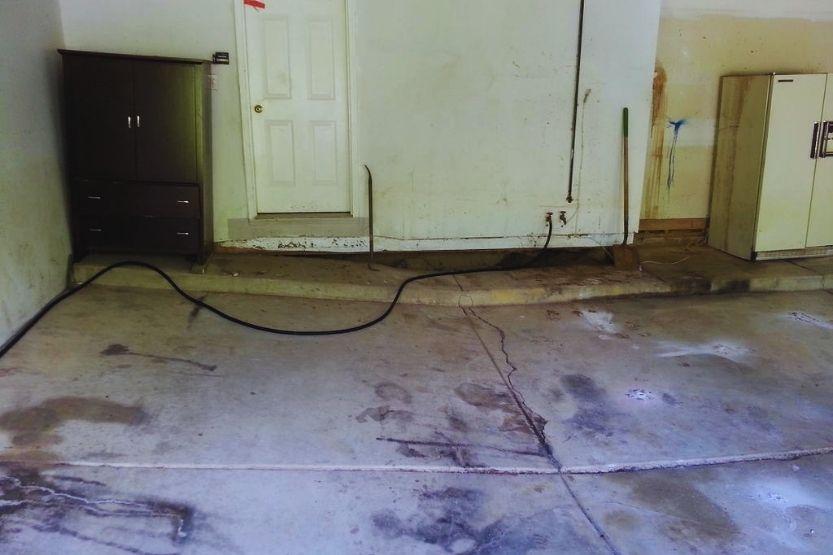 lifting garage floor
