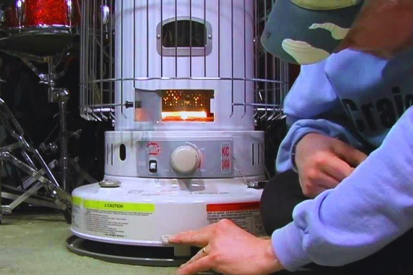 kerosene heater for garage safe
